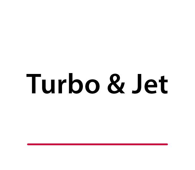 Turbine and Jet