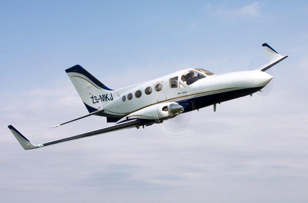 Aircraft refurbishments – Cessna C414A